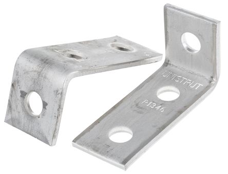 Unistrut 98 x 47mm 3 Hole Stainless Steel Angle Bracket