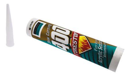 Dow Corning White Firestop Putty Cartridge, 310 ml, 2 h