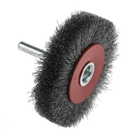RS PRO Steel Abrasive Circular Brush, 15000rpm, 70mm Diameter
