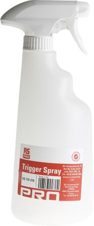 RS PRO, Trigger Spray Bottle, For Use With Cleaning Agent Dispenser