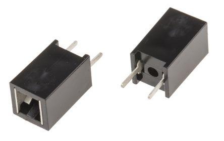 Wedge PCB Mount Indicator Bulb Holder,