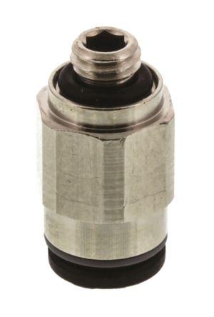 Legris 3101 04 19 Пневматический прямой переходник с резьбы на трубу
