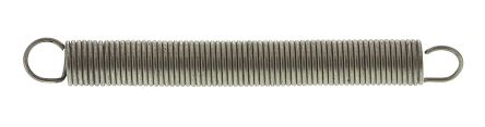 RS PRO Stainless Steel Extension Spring, 32.9mm x 3.6mm