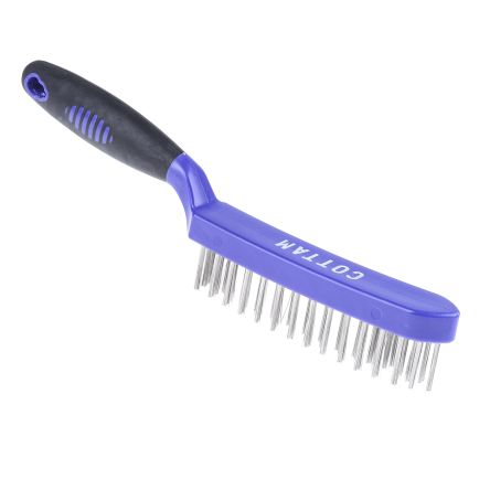 4 row stainless steel wire brush