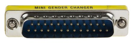 """D-sub Adapter MNGC"""" Series Gender Changer"""" , For use with 25 Way D-Sub Connector product photo"""