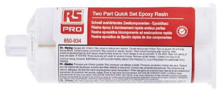 40 ml Yellow Cartridge Epoxy Adhesive for Aluminium, Steel product photo