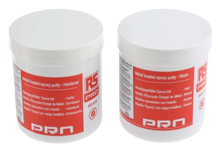 RS PRO 500 g White Tub Epoxy Adhesive