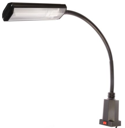 Fluorescent Machine Light, 230 V, 9 W, Flexible Neck, 500mm Reach, 500mm Arm Length product photo