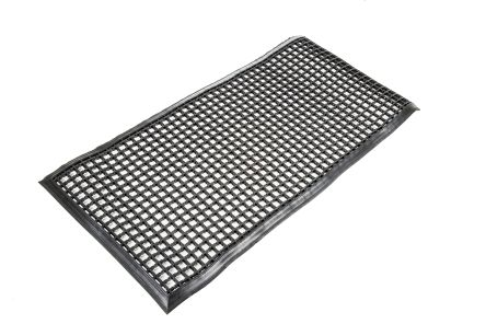 Entramat Anti-Slip, Door Mat, PVC Scraper, Indoor, Outdoor Use, Black, 600mm 1.2m 12mm product photo