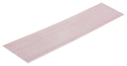 Single-Sided Stripboard Epoxy Glass 454.66 x 95.1 x 1.6mm FR4 product photo