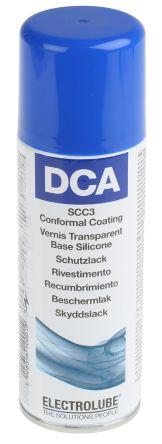 Electrolube transparent 200 ml Aerosol Conformal Coating for PCBs, -70 → +200 °C