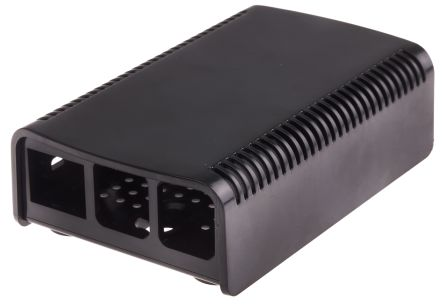 2-piece black case for Raspberry Pi