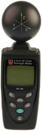 RS PRO RF Field Emission Detector, 50 MHz → 3.5 GHz
