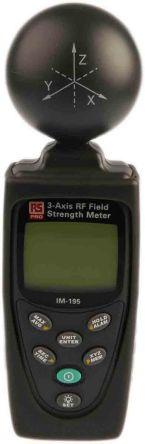 Detector de emisiones RS PRO Batería 3.5GHz