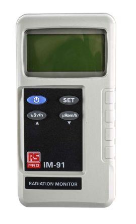 RS PRO IM91 Beta Rays, Gamma Rays, X Rays Emission Detector