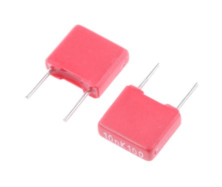 Mks2d021001a00kssd Wima 10nf Polyester Capacitor Pet 63 V Ac 100