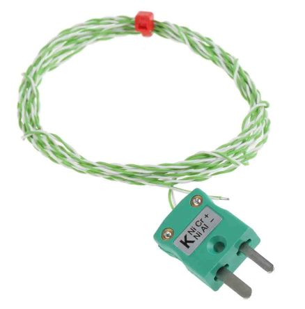 RS Pro Thermoelement Typ K, -75°C bis +250°C, Kabel 2m | RS Components