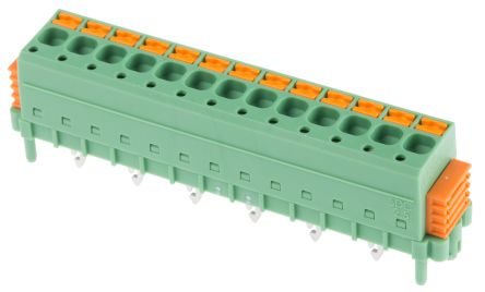 Phoenix Contact SDC 2.5/13-PV-5.0-ZB, 13 Way 5mm Pitch PCB Terminal Block
