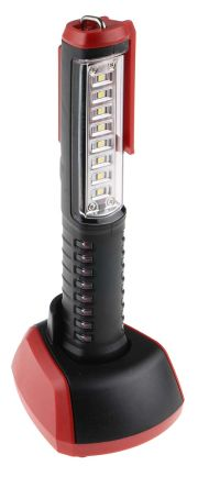 RS PRO Rechargeable, LED Inspection Lamp, 0.5W, 500 mm Beam, with batteries 3.7 V, 100 → 240 V ac