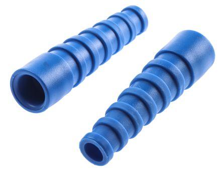 BNC strain relief, blue, RG58C/U, LMR195