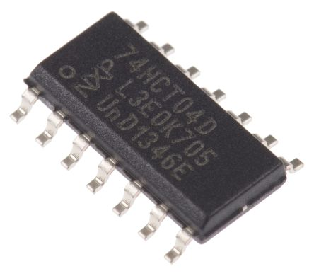 Nexperia 74HCT04D,652, Hex Inverter, 14-Pin SOIC