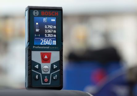 Bosch GLM 50C Laser Measure, 0.05  50 m Range, ±1.5 mm Accuracy