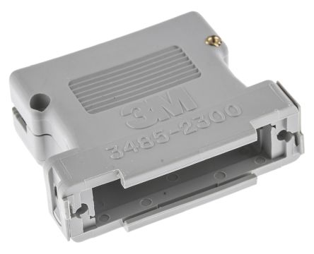 3485 Series PBT D-sub Connector Backshell, 25 Way product photo