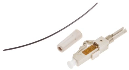 RS PRO LC PC Multimode Simplex Fibre Optic Connector, OM2 50mm Fibre Size,  ≤ 0 4dB Insertion Loss