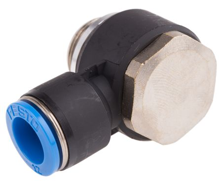 Elbow Connector, G 1/2 Male, Push In 12 mm product photo