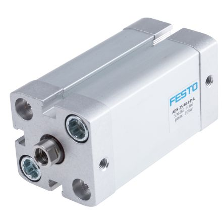 Festo Pneumatic Cylinder 25mm Bore, 40mm Stroke, ADN Series, Double Acting