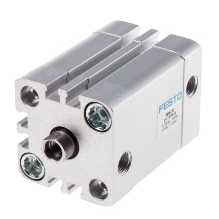 Double Action Pneumatic Compact Cylinder 32mm Bore, 25mm stroke product photo