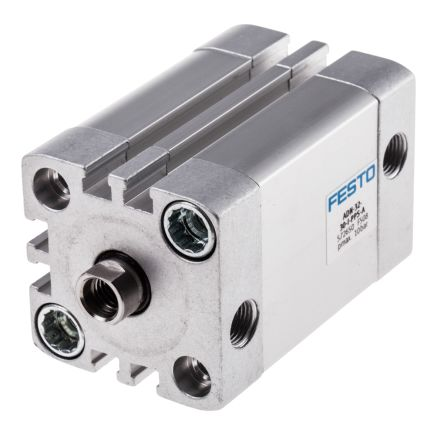 Double Action Pneumatic Compact Cylinder 32mm Bore, 20mm stroke product photo