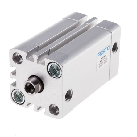 Double Action Pneumatic Compact Cylinder 32mm Bore, 40mm stroke product photo