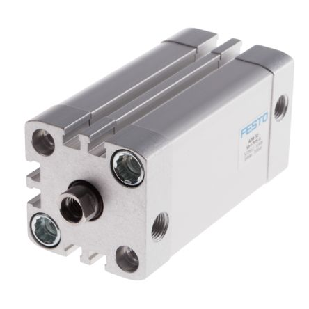 Double Action Pneumatic Compact Cylinder 32mm Bore, 50mm stroke product photo