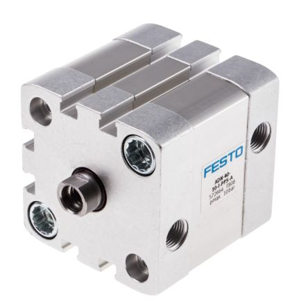 Double Action Pneumatic Compact Cylinder 40mm Bore, 10mm stroke product photo