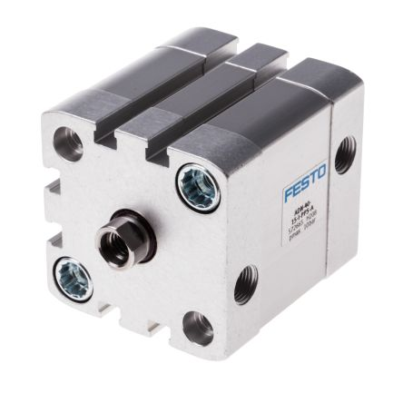 Double Action Pneumatic Compact Cylinder 40mm Bore, 15mm stroke product photo