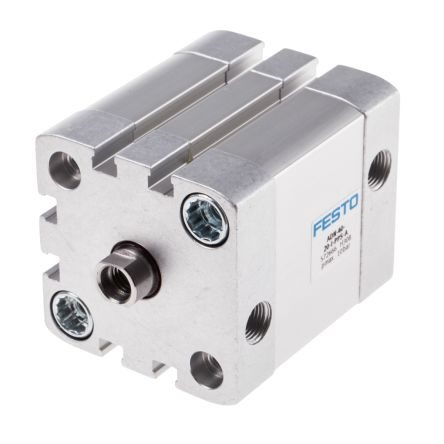 Double Action Pneumatic Compact Cylinder 40mm Bore, 20mm stroke product photo