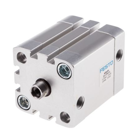 Double Action Pneumatic Compact Cylinder 40mm Bore, 25mm stroke product photo