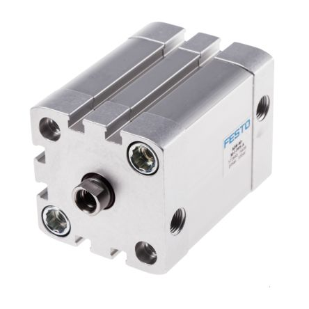 Double Action Pneumatic Compact Cylinder 40mm Bore, 30mm stroke product photo