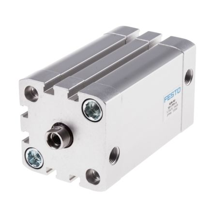 Double Action Pneumatic Compact Cylinder 40mm Bore, 50mm stroke product photo