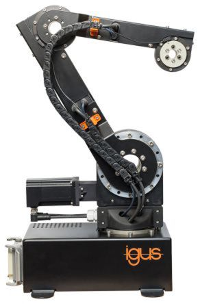 Igus 4kg Payload, 4 Axis, Bench Robotic Arm Construction Kit Size 50