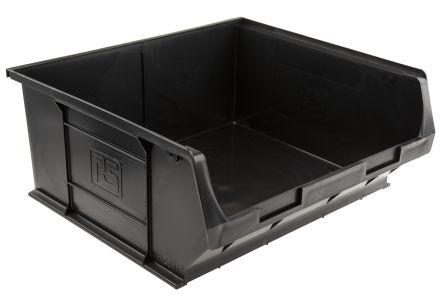 Anti-Static, Conductive Carbon, Polypropylene ESD Bin, 375 x 420 x 182mm