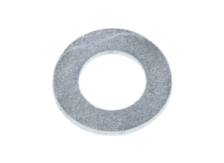 Bright Zinc Plated Steel Plain Washer, 0.8mm Thickness, M5 (Form B) product photo