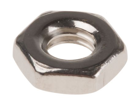 What Kind Of Nut Has A Hole >> Rs Pro Stainless Steel Hex Nut M4