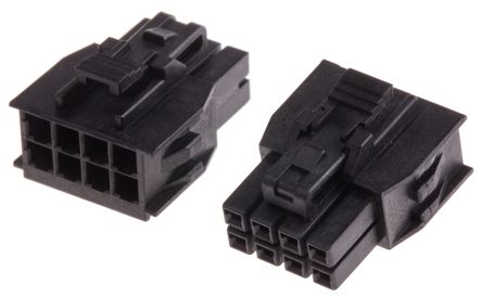 105308-1208 - Molex Female Connector Housing - Nano-Fit,