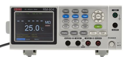 RS PRO RM-804 GPIB Ohm Meter, Maximum Resistance Measurement 5 kΩ, Resistance Measurement Resolution 1μΩ