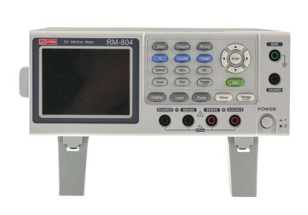 Ohm Meter, Maximum Resistance Measurement 5 MO, Resistance Measurement Resolution 1µO, Measurement Type 4 Wire product photo