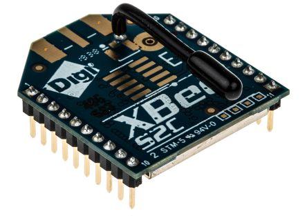 Digi International XB24CZ7WIT-004 ZigBee Module +5 dBm, +8 dBm -102 dBm, -100 dBm SPI, UART 2.1  3.6V 24.3mm