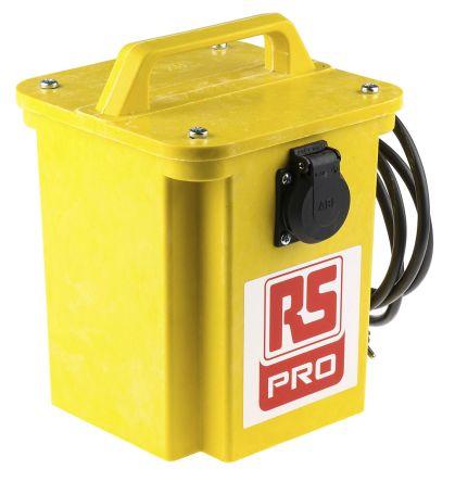 RS PRO, 1.5kVA Portable Isolation Transformer, 230V ac, 2 x 16A