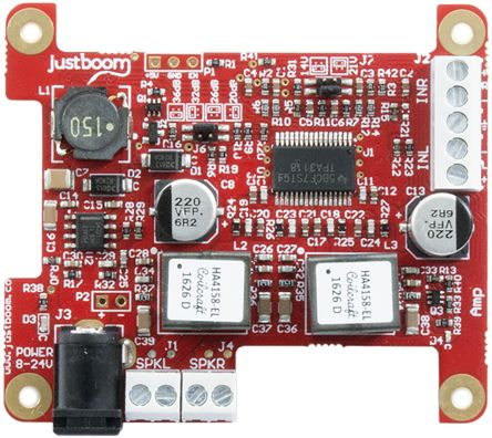 Pi Supply JustBoom Amp Отладочный набор интерфейса